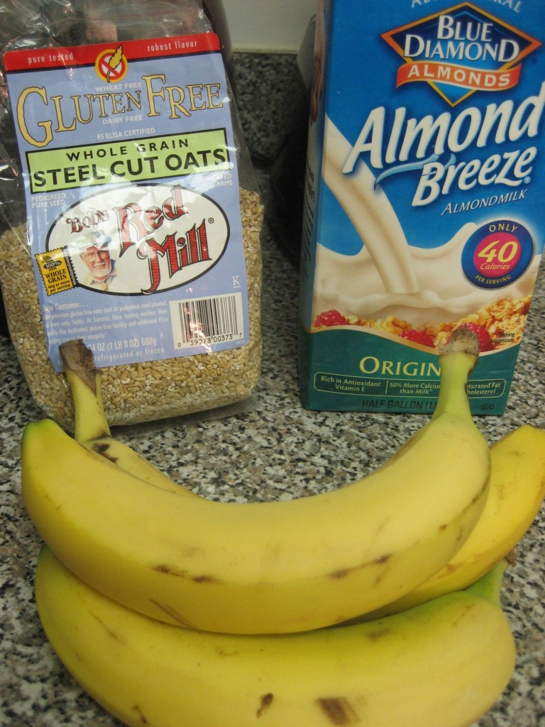 Banana Steel Cut Oats