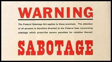 sabotage small