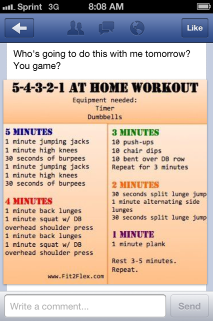 Fitfluential Workout