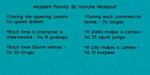 Modern Family Workout