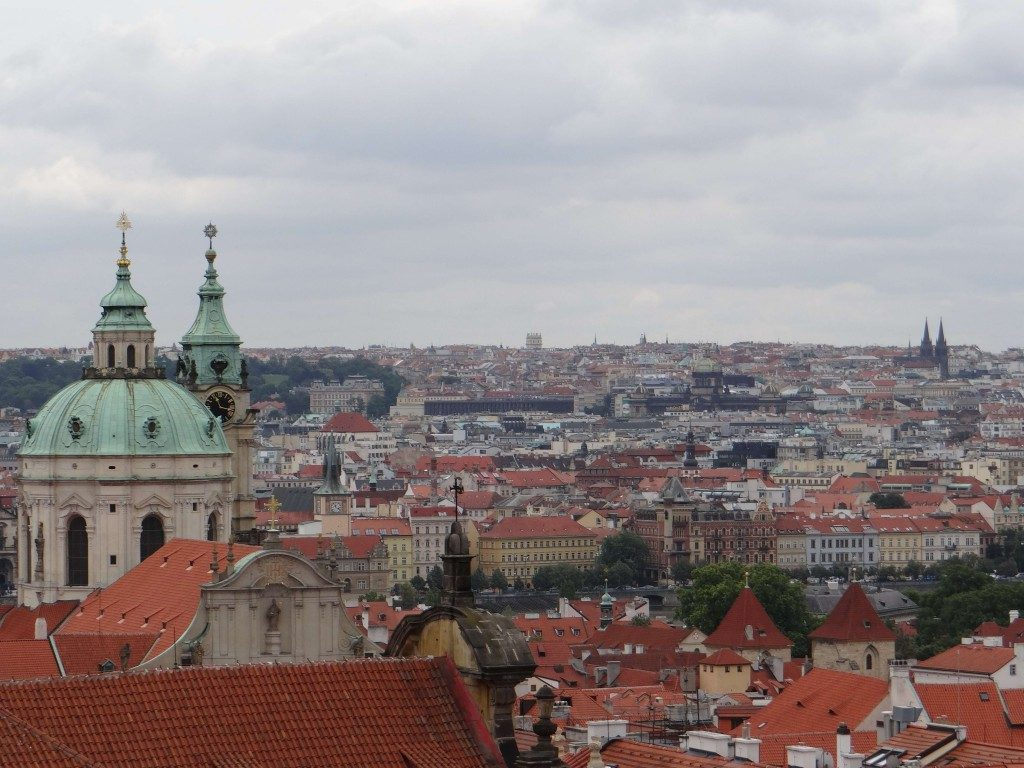 Prague City View