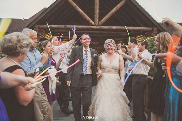Glow Stick Wedding
