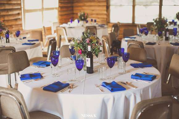 Our Rustic Wedding Reception Details