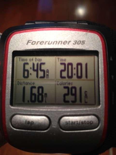 20 Minute Run