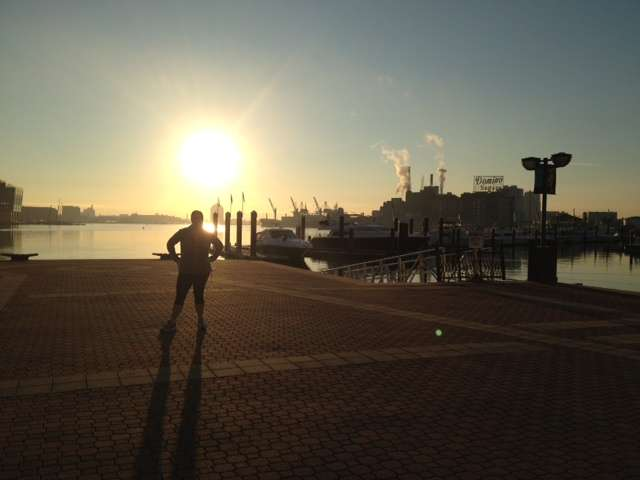 Baltimore Inner Harbor Run