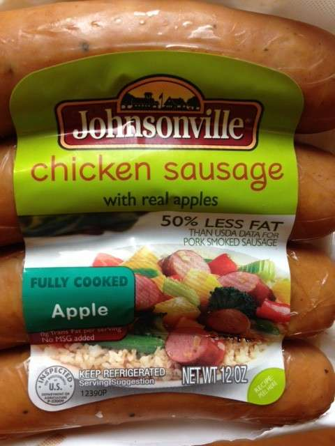 Johnsonville Apple Chicken Sausage