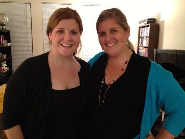 Ashley and Katy
