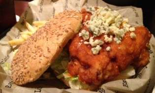 Bar Louie Buffalo Chicken Sandwich