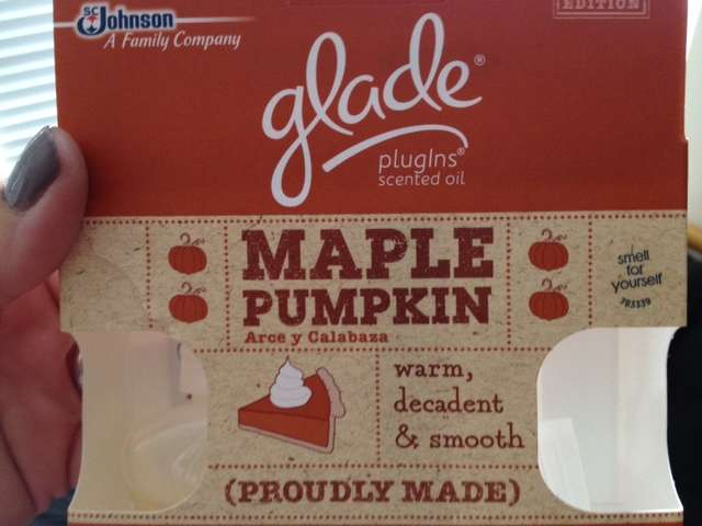 Glade Maple Pumpkin