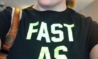Fast As Nike Shirt