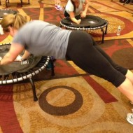 Jumpsport Fitness Trampoline Workout
