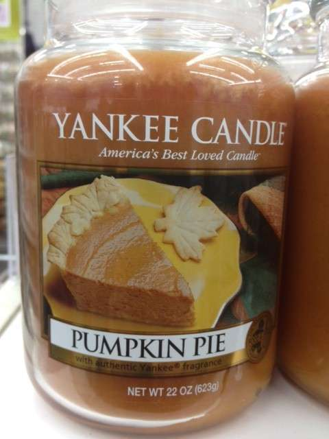 Yankee Candle Pumpkin Pie