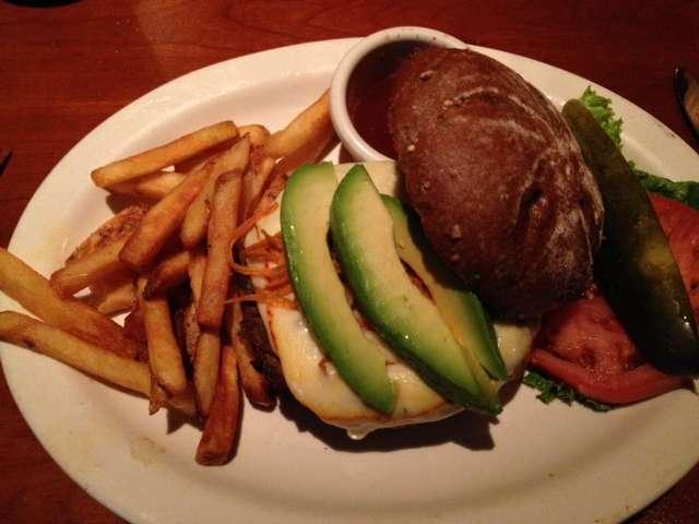 Clydes Veggie Burger