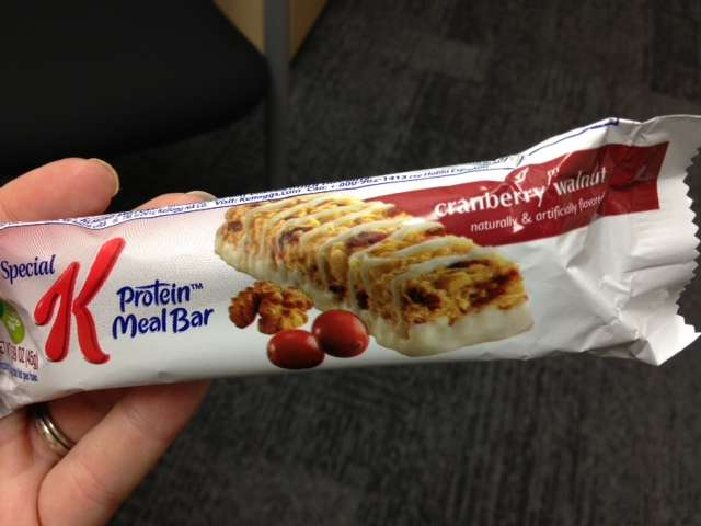 Special K Cranberry Walnut Protein Bar