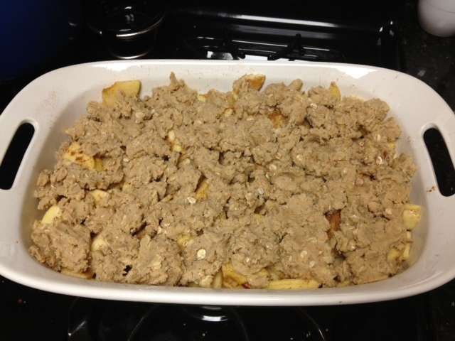 Maryland Apple Crisp