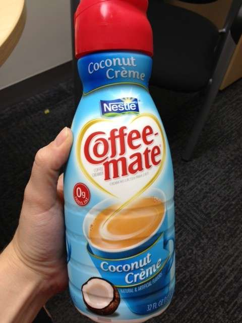 Coffee Mate Coconut Cream