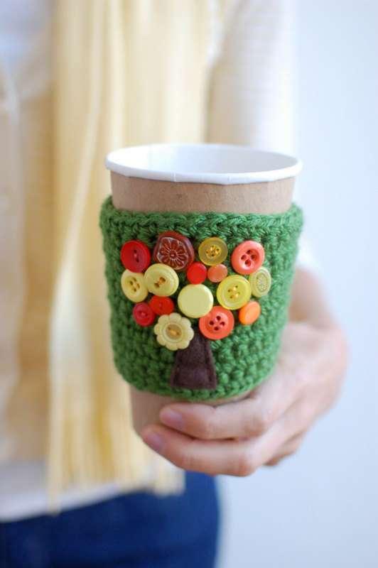 Tree Coffee Cozy