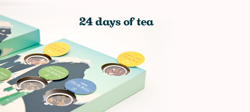 Davids Tea 24 days of tea