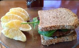 Lightlife Backyard Burger