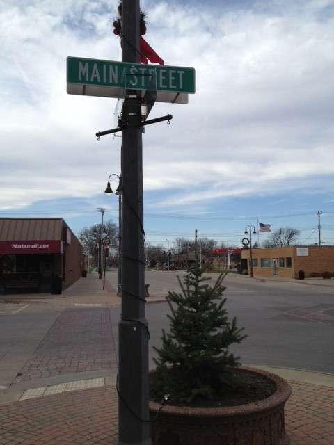 Main Street Grinnell Iowa