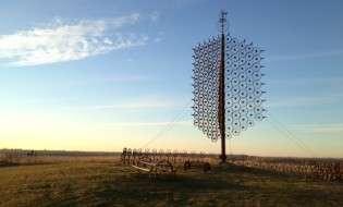 Wheel Sculpture Iowa