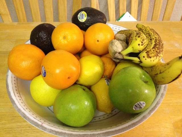 Juicing Fruit