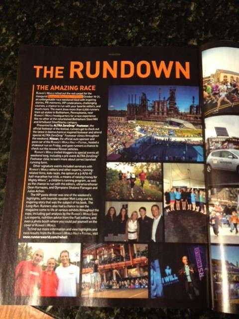 January 2013 Runners World