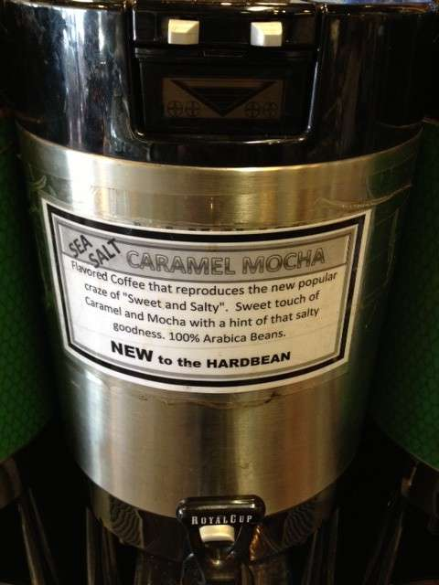 Hardbean Sea Salt Caramel Mocha