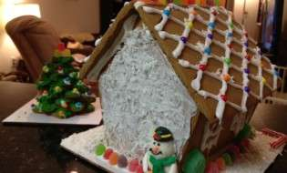 Costco Gingerbread House Kit