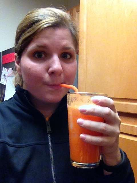 juicing after workout