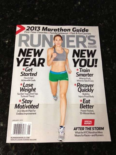 January 2013 Runner's World