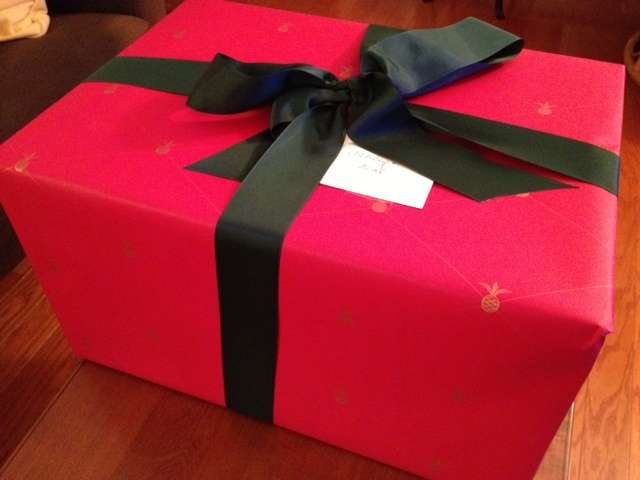 Williams Sonoma Christmas Wrapping