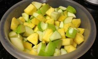 Apple and Pineapple Fruit Salad
