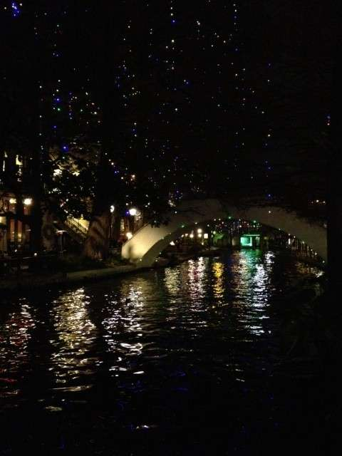 Riverwalk Christmas Lights