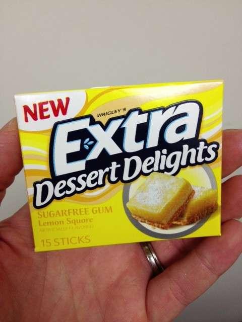 Extra Lemon Square Gum