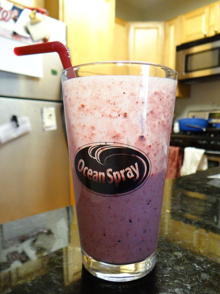 Ocean Spray Smoothie