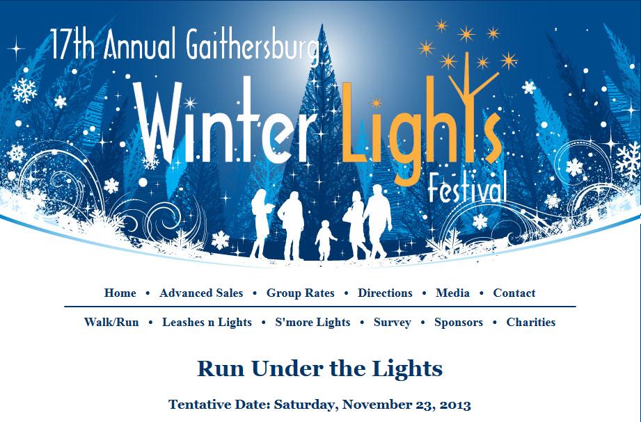 Gaithersburg Run Under The Lights
