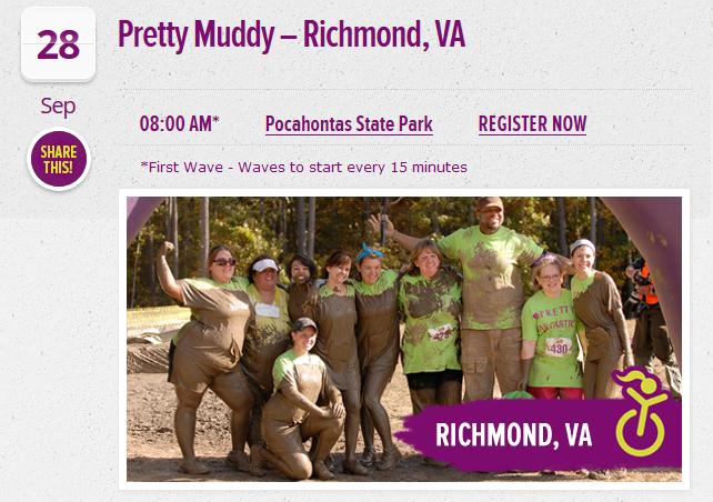 Richmond Pretty Muddy