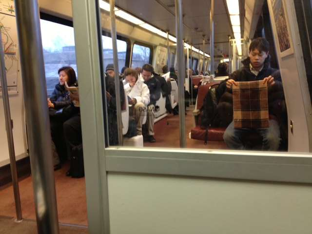DC Metro Train