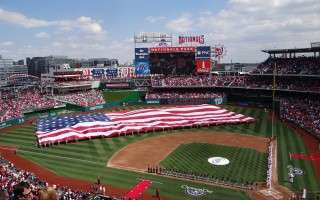 Nationals Opening Day 2013