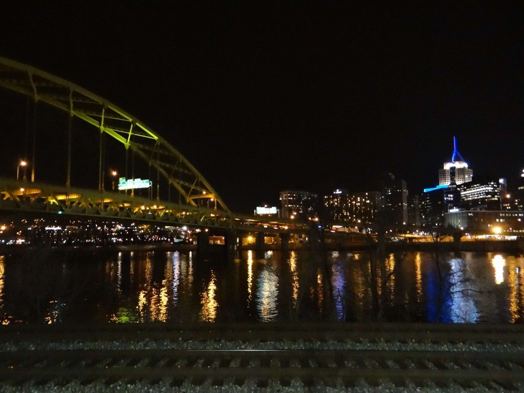 Pittsburgh PA at night