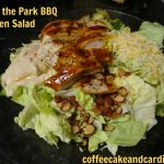 Outta the Park BBQ Chicken Salad