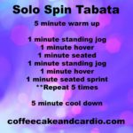 Solo Spin Workout and a Weekly Plan