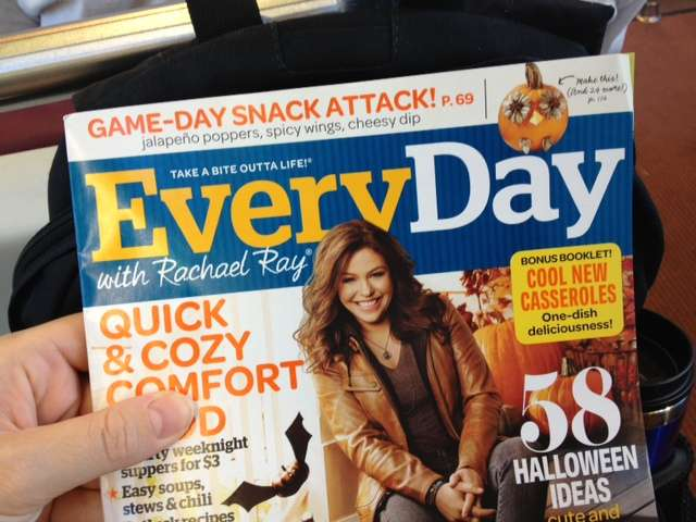 Rachel Ray Magazine October 2013