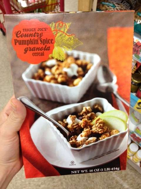 Trader Joe's Country Pumpkin Spice Granola