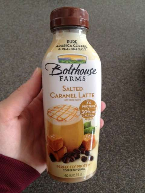 bolthouse salted caramel latee