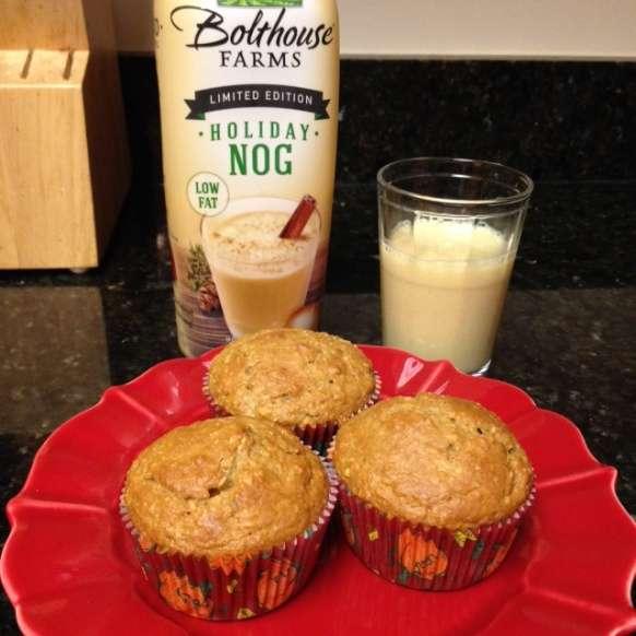 Bolthouse Eggnog Muffins