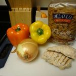 Whole Wheat Pasta with Chicken and Peppers