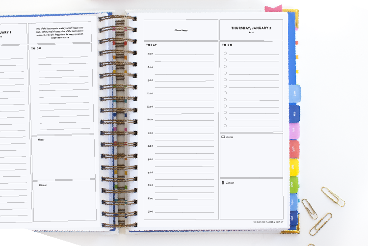 2014 Simplified Day Planner