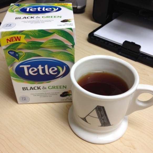 Tetley Black and Green Tea